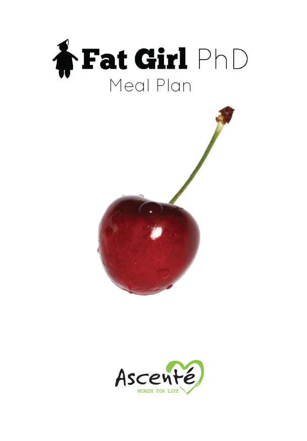 Fat Girl PhD Meal Plan