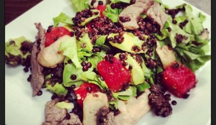 Steak and Watermelon Salad